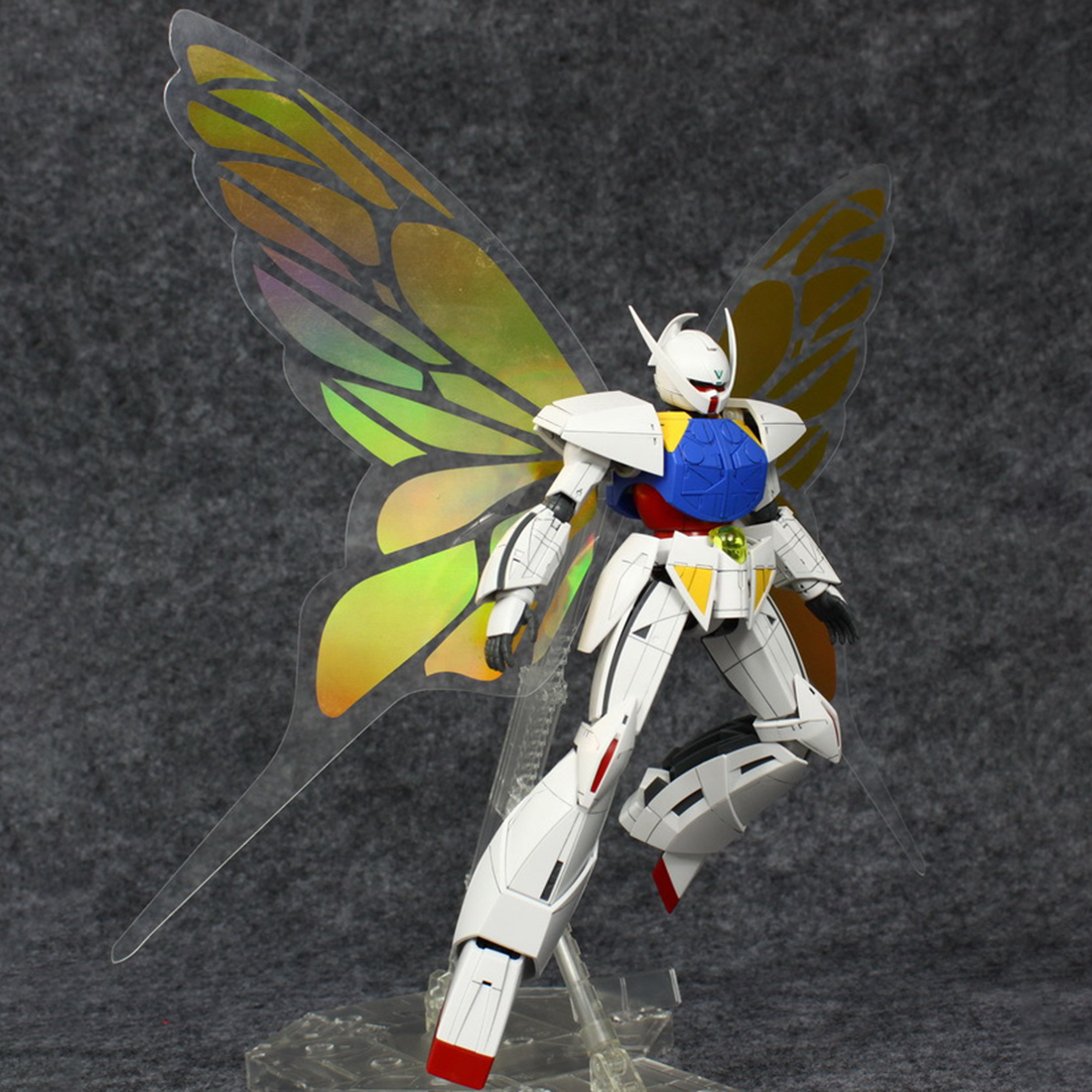 Light-Wing Special-Effects-Decoration Gundam Action Figures-Golden 1/100 for Toy Butterfly