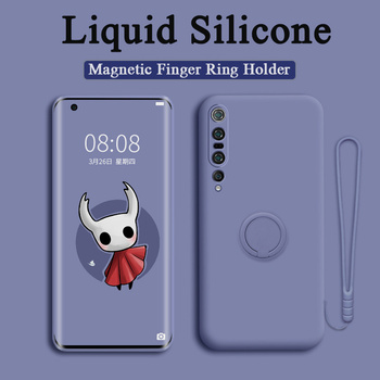 Phone Case For Xiaomi Redmi Note 9 9S 10 8 7 Pro Max Case Silicone Cover For Xiaomi Redmi 9 K30 Pro Mi 11 10 Pro Magnetic Holder 1