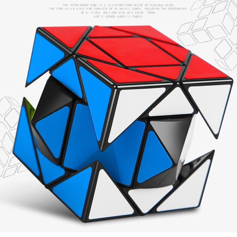 MOYU Pandora 3x3 Skewcube Puzzle Magic Cube 3x3x3 Speed Cube Xskew Cubes Educational For Children Toys Boys Cubo Magico
