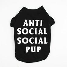 Clothing T-Shirt Dogs Small Summer Chihuahua Black Letter Perro Print-Spring Fashion