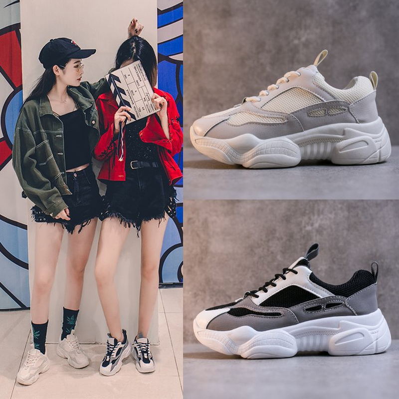 LZJ 2019 New Spring Fashion Women Casual Shoes Comfortable Platform Shoes Woman Sneakers Ladies Trainers Chaussure Femme 35-40