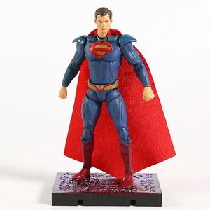 Image 3 - Hiya צעצועי DC עוול 2 באטמן סופרמן וונדר אישה ג וקר הארלי קווין פלאש סופרגירל אדום הוד ביצה דבר פעולה איור צעצוע