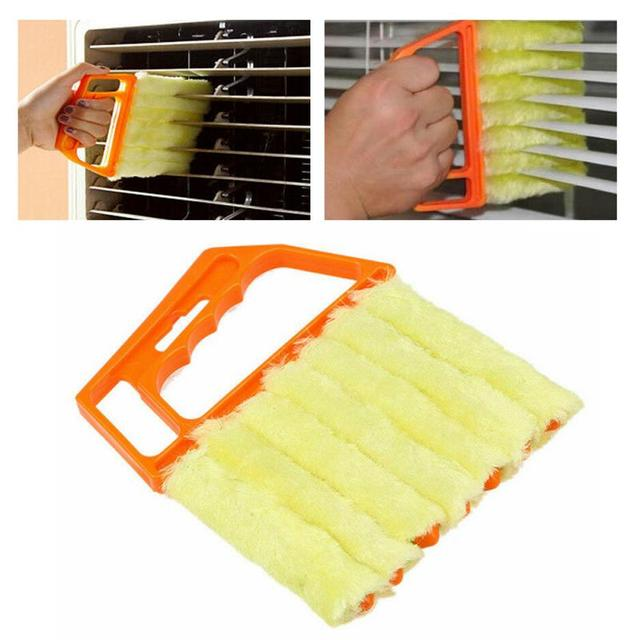 Microfiber Blinds Cleaning Brush Air Conditioner Duster Cleaning Brush Washing Windows Car Air Outlet Cleaning Tools TSLM1 1