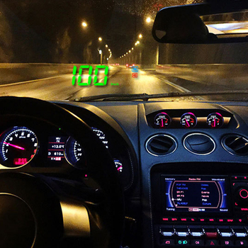 Hot Head Up Automatically Car Display Intelligent GPS Speedometer Clear Digital HUD Save Energy Projector Easy Install Universal