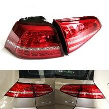 Для Volkswagen VW Golf 7 2012~ автомобильный светильник в сборе задний светильник СВЕТОДИОДНЫЙ ПОВОРОТНЫЙ сигнальный тормозной Предупреждение ющий бампер светильник