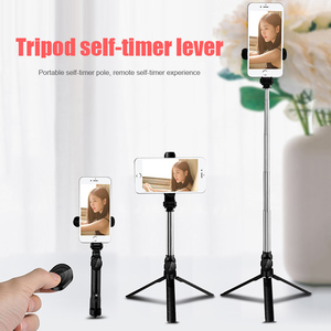 Image 5 - Portable Durable 4 In 1 Wireless Bluetooth Selfie Stick With Remote Control For iPhone Samsung Huawei
