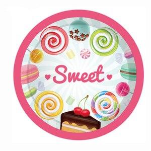 Baby Shower сладкий леденец День рождения выступает дети конфеты сахара украшения для вечеринок висит баннер для вечеринок Поставки Украшения своими руками для вечеринки      АлиЭкспресс