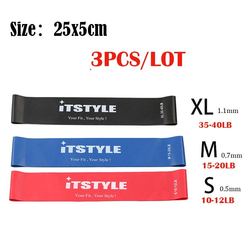 25cm 3pcs middle