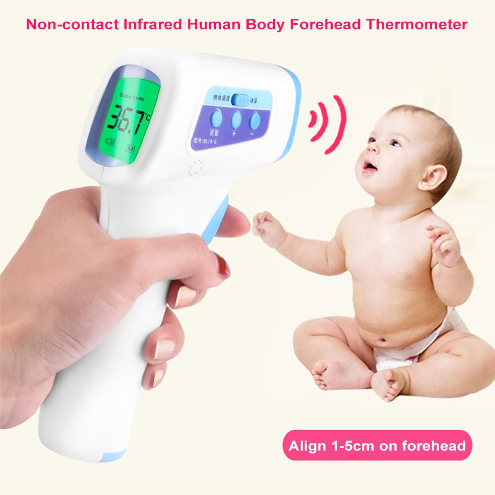 Baby Child Adult Forehead Electronic Thermometer Non-contact Infrared Human Body Thermometer Dropping Delivery Within 48 Hours