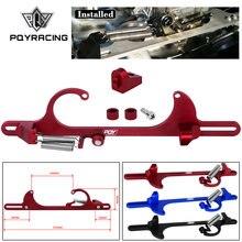 PQY-soporte de Cable de acelerador de aluminio para Ford, accesorio de combustible rápido 4150 y 4160 carburador 350 FF PQY-TCB01