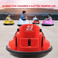 Ride On Bumper Car Toy for Toddlers Aged 1.5+ 6V Battery-Powered with Light Remote Control Adults Kids Bumper #45