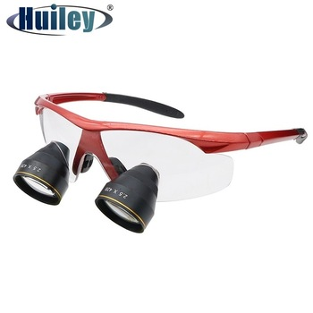 цена на 2.5X Ultra-light Professional Dental Glasses Medical Magnifier for Surgery Loupes with Magnifying Binocular Loupes