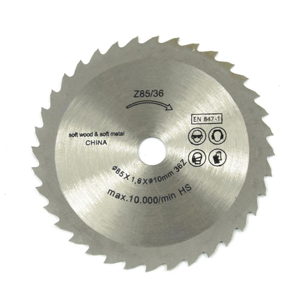 1pcs High Quality Out DiameterT Mini Circular Saw 85 Mm 24 Blade Wheel Discs Wood Cutting Blade