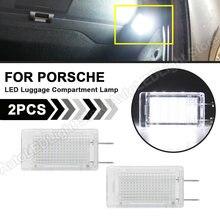 Für Porsche 964 911 Carrera 986 987 Boxster Cayman 993 996 997 Turbo LED Stamm Gepäck Fach Lampe Handschuh Box fußraum Licht