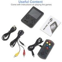 נייד משחקי שחקני משחק ניידות מיני וידאו נייד Bit קונסולת משחקי 8 מובנה 168 משחקים קלאסי LCD ילדים נוסטלגי רטרו קונסולת משחקים (5)