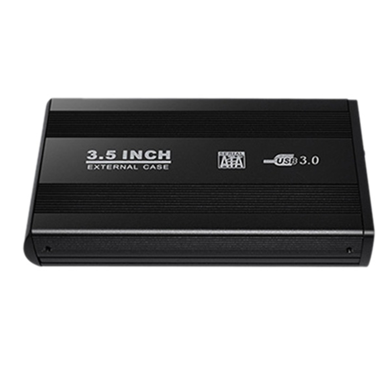 3.5 Inch Usb 2.0/Usb 3.0 Sata External Hdd Disk Hard Drive Enclosure Case Cover External Storage Box