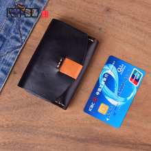AETOO Original handmade Genuine Leather Wallet Women Vintage Handmade Female Short Small Wallets Coin Purse Card Holder Case