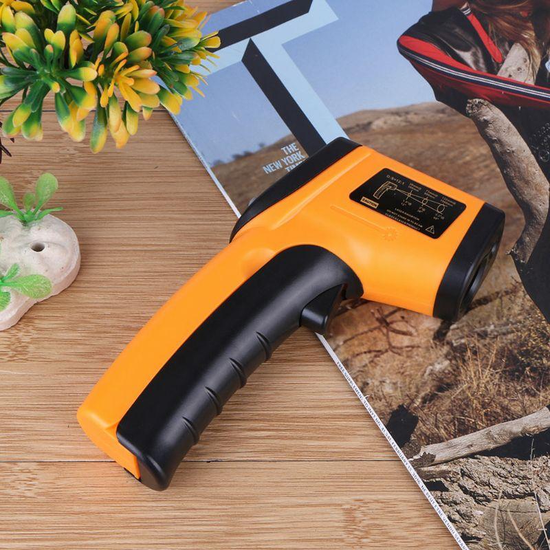Digitale GM320 Infrarood Thermometer Non Contact Infrarood Thermometer Pyrometer Ir Laser Temperatuur Meter Gun -50 ~ 380 Graden Nieuwe 5