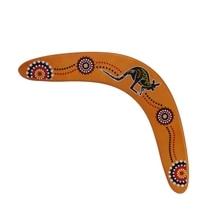 P15C New Kangaroo Throwback V Shaped Boomerang Flying Disc Throw Catch Outdoor Game