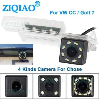 цена на ZIQIAO for VW Volkswagen Golf 5 Golf V Golf MK5 Golf 6 Golf 7 MK7 VII Passat CC Car Parking Reverse Camera HS106