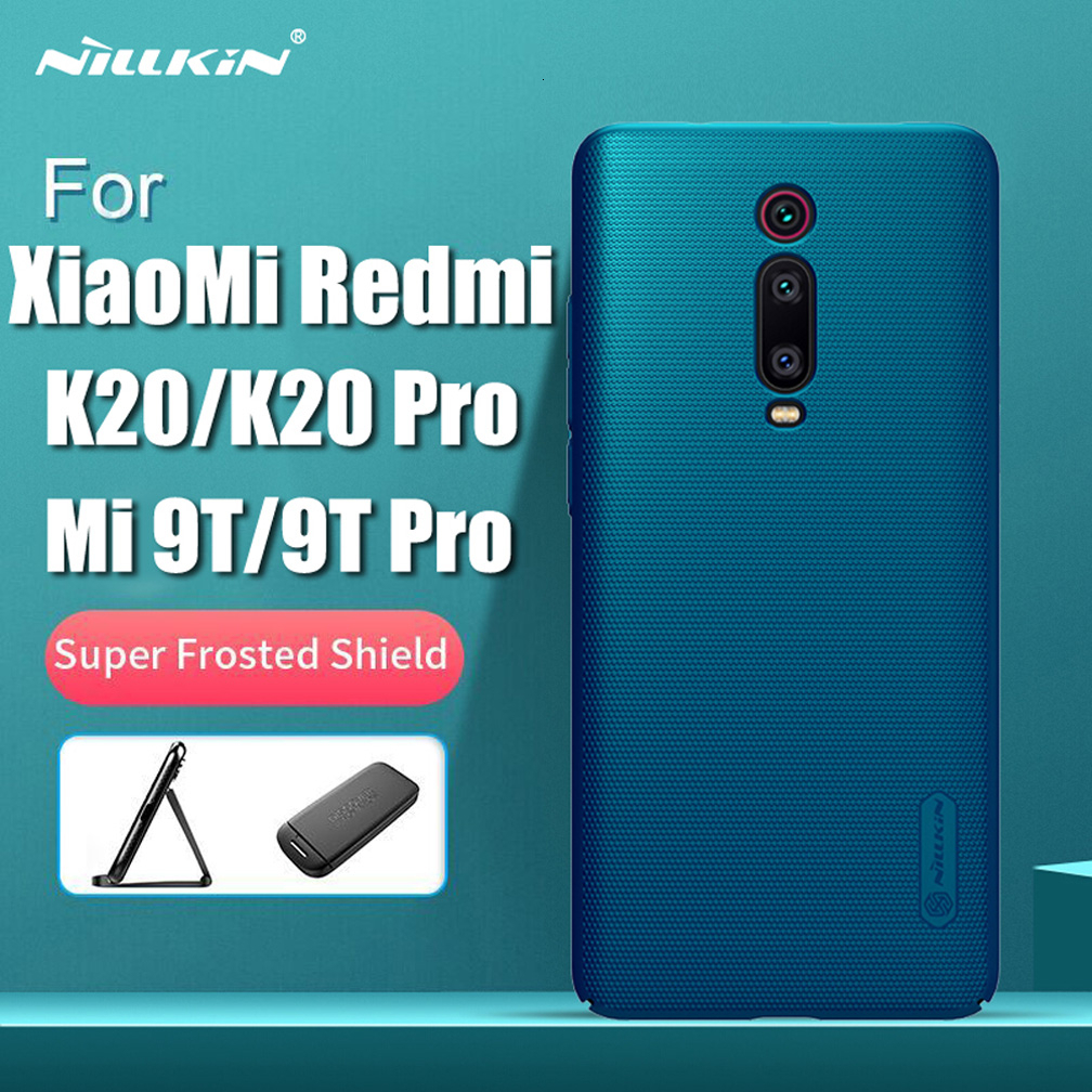 for Xiaomi Redmi Mi 9T Pro case k20 pro global version cover Nillkin Super Frosted Shield PC Hard Back case For Redmi K20 Mi9T(China)