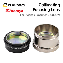 Ultrarayc Fiber Laser Collimating Focusing Lens Dia.37mm with Holder for Precitec Cutting Head