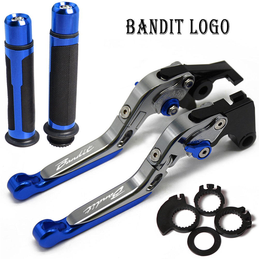 <font><b>Brakes</b></font> Clutch Levers handle bar grip end handlebar Motorcycle Accessories FOR <font><b>SUZUKI</b></font> <font><b>GSF1200</b></font> BANDIT GSF 1200 2001-2006 2005 2004 image