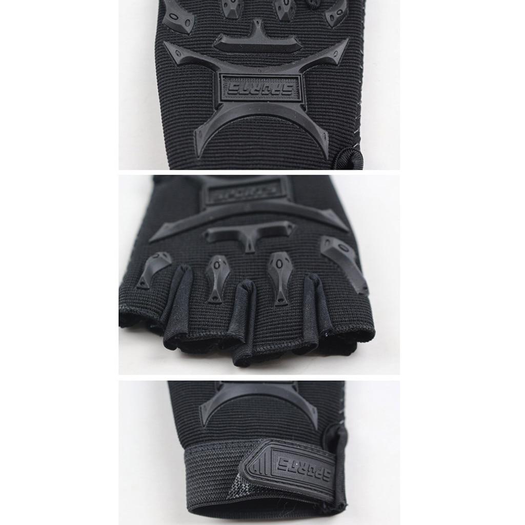 Children Sport Gloves for Training with Wrist Support for Fitness winter guantes tactical gloves handschoenen fingerless luvas 6