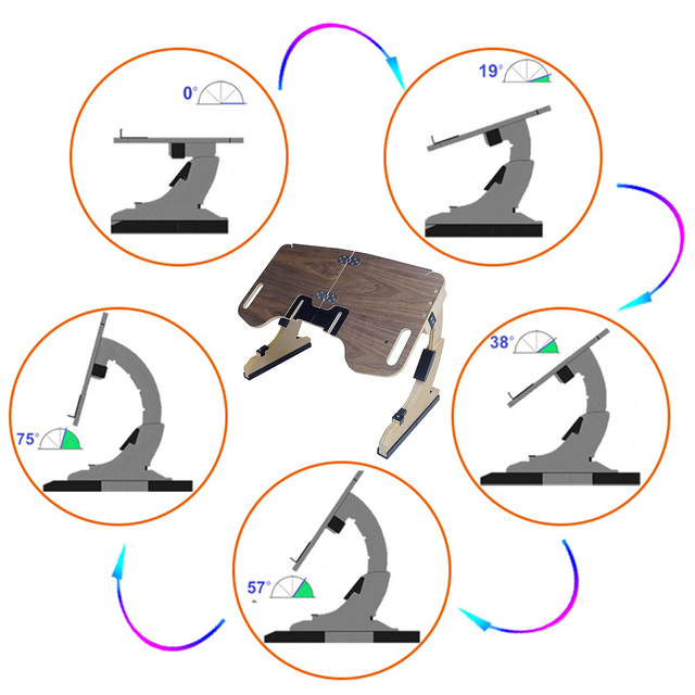 Adjustable Bed Laptop Foldable Notebook Stand  6