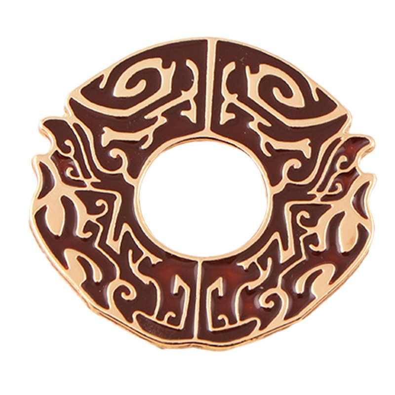 1 sztuk Chen Qing Ling Mo Dao Zhu Shi rodzina Symbol Pins broszka odznaki emalia spinki biżuteria Denim kurtki kołnierz prezenty