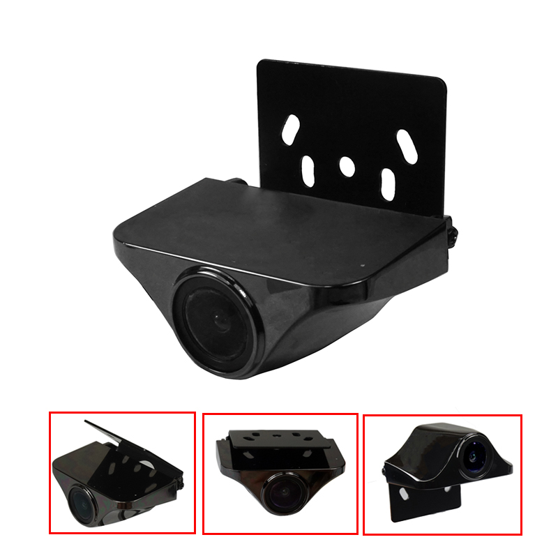 NEW HD 1280*720P Rear View Backup Camera  Reversing Camera Front Camera Adjust Angle Dynamic Tracks Line