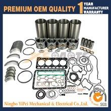 V3300 V3300-DI-T Ремонт Ремонтный комплект для двигателя Kubota поршневое кольцо комплект прокладок