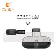 Gulikit Route + Pro – transmetteur Bluetooth sans fil, adaptateur usb-c ou récepteur Audio avec Transmission vocale pour Nintendo Switch