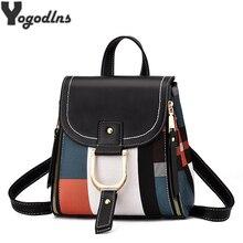 Высококачественный Женский рюкзак из искусственной кожи, сумка для девочек-подростков, школьная сумка на плечо, многофункциональная сумка-рюкзак, ручная сумка через плечо