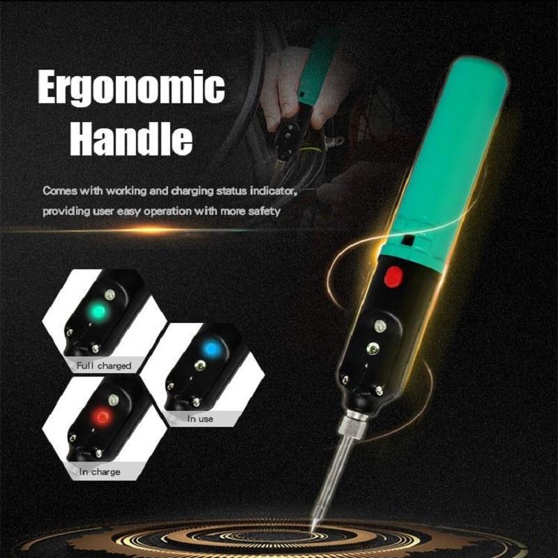 Tools : Pro sKit  Wireless Power Soldering Iron USB Rechargeable 2200mA Li-ion Battery Fast Heat Up SI-B166