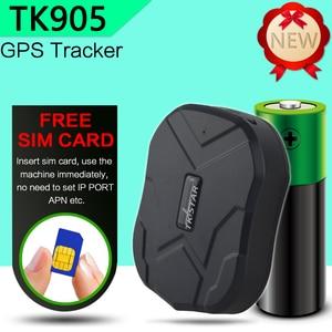 Image 2 - Czarny piątek sprzedaż TK905 wodoodporny gps samochodowy magnes gotowości 90 dni w czasie rzeczywistym LBS pozycja dożywotnia bezpłatne śledzenie