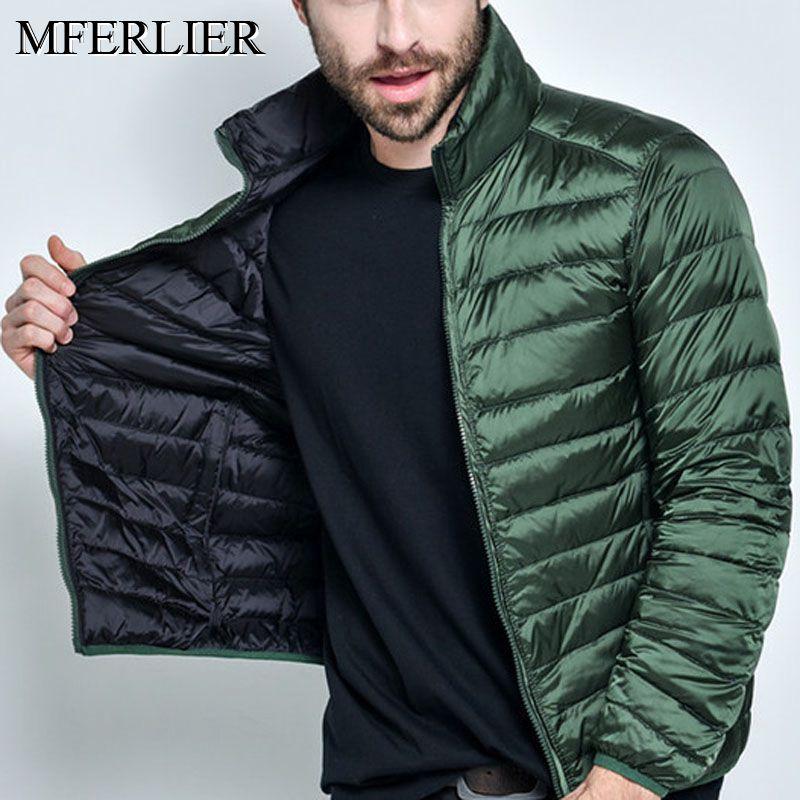 Autumn Winter Jackets Men 5XL 6XL 7XL Bust 140cm Plus Size Long Sleeve Men Coat