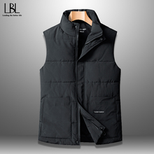 Jacket Vest Down Plus-Size Coat Autumn Winter Sleeveless New Male Casual 8XL Cotton Solid