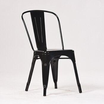 Nordic metal-iron dining-chair, iron-iron dining-chair, iron-iron-art chair, Tilix restaurant, coffee shop