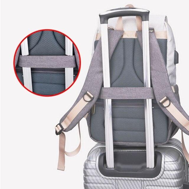 Фото сумка для подгузников мам вместительный рюкзак ухода за ребенком