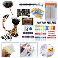 1 Набор начинающих электронных компонентов Обучение Базовый стартовый набор макетная плата компоненты проекты электрические инструменты
