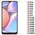 Защитное стекло 9H для Samsung Galaxy A01 A51 A71 A20E A20S A40S M10S, пленка для экрана Samsung A10 A30 A50 A70, закаленное стекло