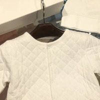 Spot 2020 New Autumn Toddler Girl Clothes Four piece Suit Coat & Romper & Hat & Bib Boys Clothing Set Boutique Kids Clothing