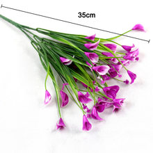 Artificial Floral Simulation Flower Fake Plants Plastic Bouquet Home Wedding Party Decoration DNJ998(China)