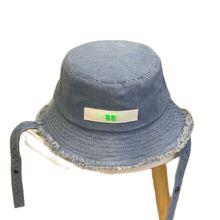 Luxury Designer Women's Bucket Hat Summer 2021 Ladies Sun Hat Hip Hop Letter Brand Denim Cap Outdoor Fisherman Hat Men Female 54