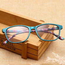 Reading Glasses Spectacles High-Definition Spring Diopter Ultra-Light Woman Resin Foot-Hyperopia