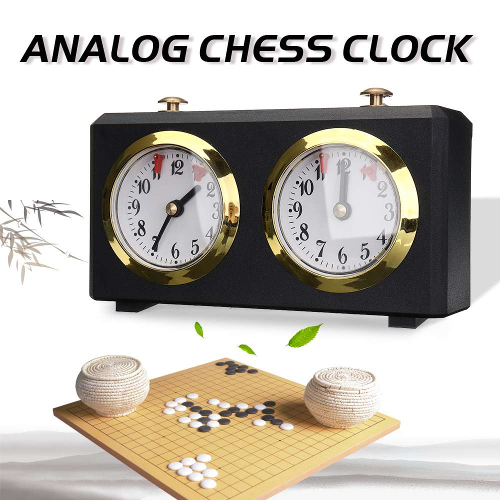 Professional LEAP DT05ah Analog Chess Clock For Chess/I-GO Count Up Down Alarm Timer for Game Competition Metal