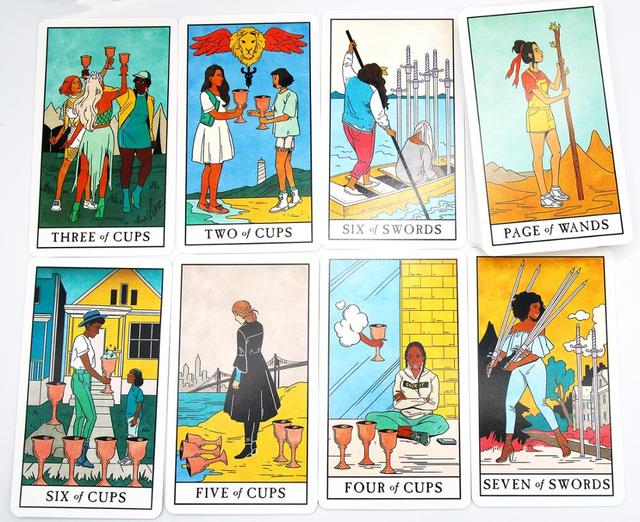 The Modern Witch Tarot Deck Guidebook Card Table Card Game Magical Fate Divination Card 5