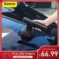 Baseus-pulidor eléctrico inalámbrico para coche, máquina de abrillantado para coche, velocidad ajustable de 3800rpm, herramientas de depilación automáticas, accesorios