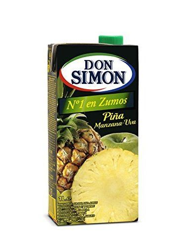 Zumo De Piña Con Manzana Y Uva Don Simon 1L